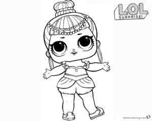 Coloring Pages Dolls Meningrey