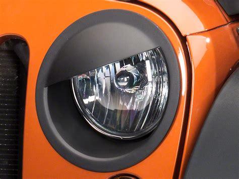 jeep angry headlights redrock 4x4 wrangler angry eyes headlight conversion