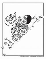 Coloring Uphill Crafts sketch template