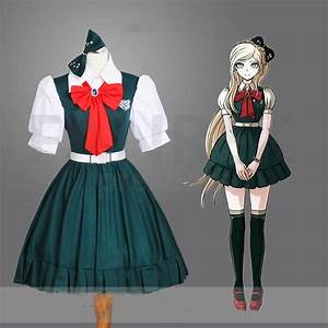 Super Dangan ronpa 2 Sayonara Zetsubu014d Gakuen Cosplay Sonia Nevermind Costume