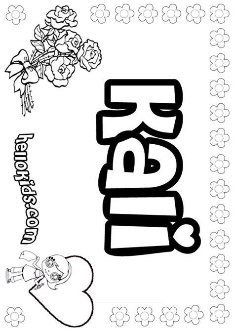 girls  coloring pages  girly   color