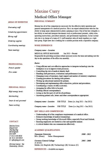 Medical Office Manager Resume, Template, Example, Cv. Describe Retail Experience On Resume. College Admission Resume Builder. Beautiful Resumes. Accounts Receivable Specialist Resume. Skills To Put On A Resume. Resume For Construction. Sample Reference Page For Resume. What Does Accreditation Mean On A Resume