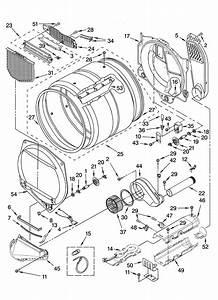 Whirlpool Model Wed9200sq1 Residential Dryer Genuine Parts