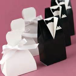 wedding favor containers wedding favor idea black and white formal affair favor boxes blisstree