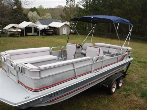 Hurricane Deck Boat Godfrey by Hurricane Godfrey Marine Deck Boat Fd220 1986 For Sale