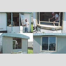 How To Replace A Leakyrotten Bay Window  Mobile Home Repair
