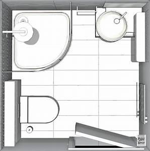 exemples de plans pour gain de place dans de petites With petite salle de bain plan
