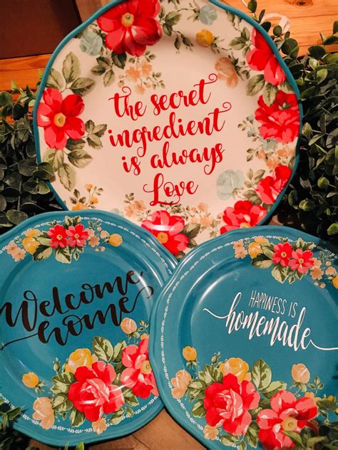 personalized dishwarehome decorshabby chiccountry livingpioneer woman decor pioneer woman