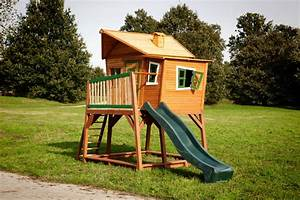 Kinder Holzhaus Garten : kinder holz spielhaus axi max comic kinderspielhaus auf stelzen rutsche stelzenhaus ~ Frokenaadalensverden.com Haus und Dekorationen