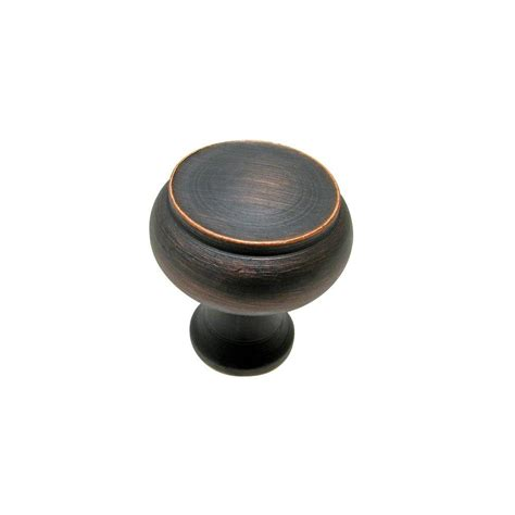 home depot cabinet pulls bronze richelieu hardware 1 1 8 in brushed oil rubbed bronze
