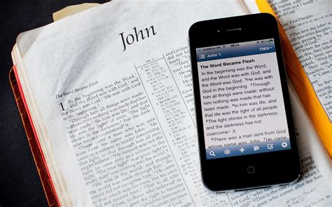 bible app for iphone how to get to read the bible without them