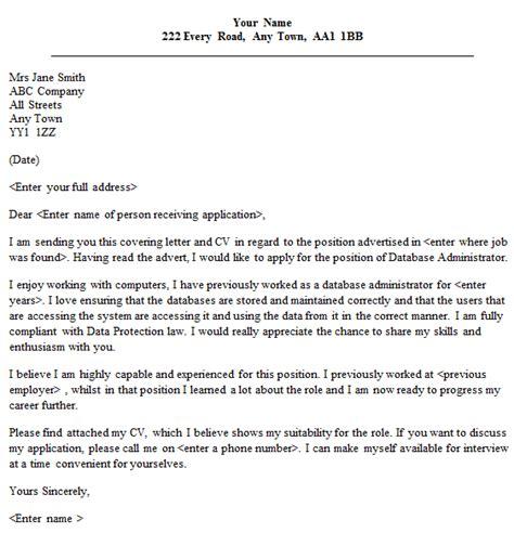 administrator cover letter sample lettercvcom