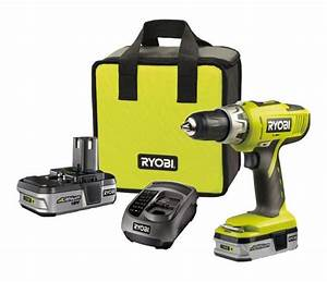 Perceuse Visseuse Percussion 18v : ryobi perceuse visseuse percussion 18v 2x1 3 ah li ion ~ Edinachiropracticcenter.com Idées de Décoration