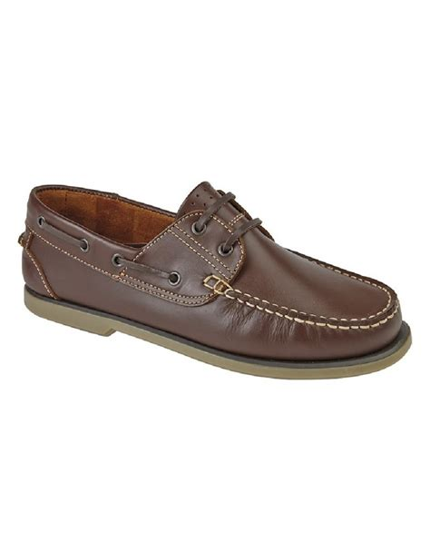 Leather Boat Shoes by Mens Boat Shoes Dek Leather Shoes Shoeclub