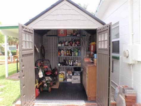 rubbermaid big max 7 ft x 7 ft storage shed home