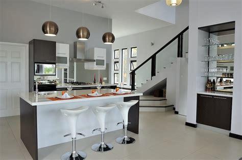 isla de cocina moderna  futurista imagenes  fotos
