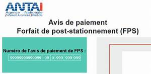 Avis De Paiement Fps : pour tout savoir sur le forfait de post stationnement ~ Medecine-chirurgie-esthetiques.com Avis de Voitures