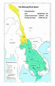Map Of Mekong River Basin  Source   U00a9mekong River
