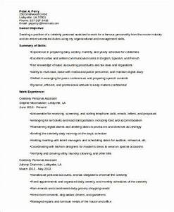 Executive Assistant To Ceo Resume Sample Personal Assistant Resume 8 Examples In Word Pdf