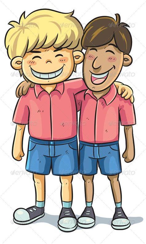 friendship graphicriver cartoon illustration  friend