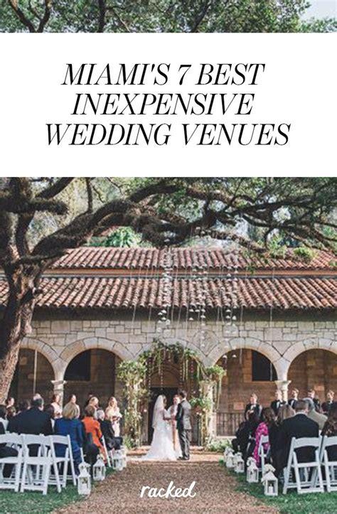 miamis  affordable  attractive wedding