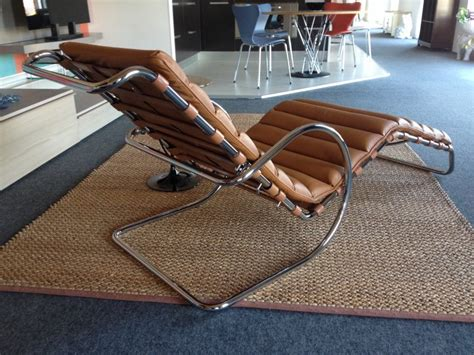 chaise mies der rohe mr chaise lounge ludwig mies der rohe bauhaus italy