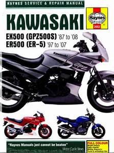 Haynes Kawasaki Ex500 Ninja 500 Er500 1987