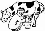 Cow Coloring Drawing Pages Outline Dairy Cartoon Printable Calf Easy Dog Simple Cows Milk Draw Getdrawings Clipartmag Spiderman Print Getcolorings sketch template