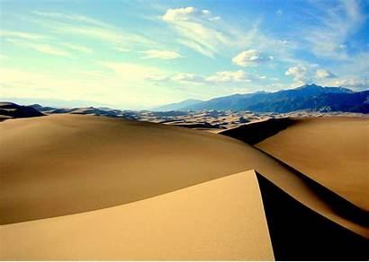 Dunes Sand National Park Colorado Usa Dune