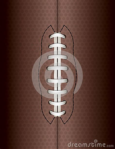 american football lace vector american football background illustration stock