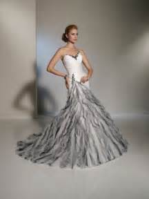 silver wedding dresses photo gallery photo of silver white wedding gown
