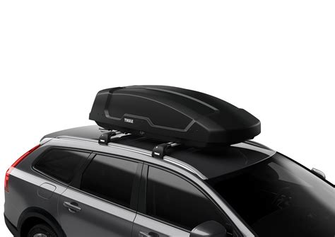 4x car suv roof box luggage bag mounting clip lock holder roof rack mighty clips (fits: Thule Force XT Medium Roof Box 400 L - Carbox