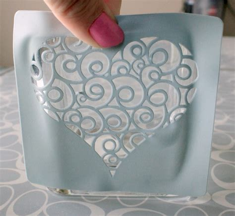 how to make glass l glass etching stencils how to make in 25 ways guide
