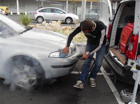 nettoyage siege auto vapeur lavage interieur et exterieur le lavage auto à la vapeur