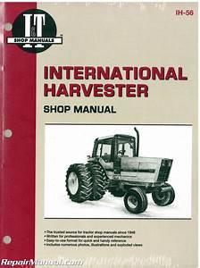 International Harvester 5088 5288 5488 Tractor Manual