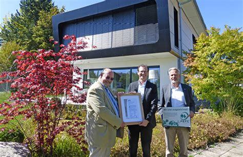 Haus Des Jahres Regnauer Holt Gold Und Silber In Den Chiemgau by Regnauer Hausbau News Ihrem Fertighausanbieter
