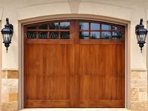wood garage doors wooden overhead door paint grade With 9x7 wood garage door
