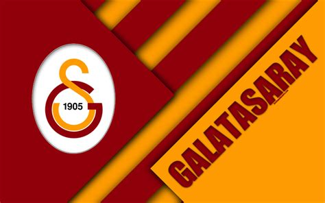 wallpapers galatasaray fc emblem  material
