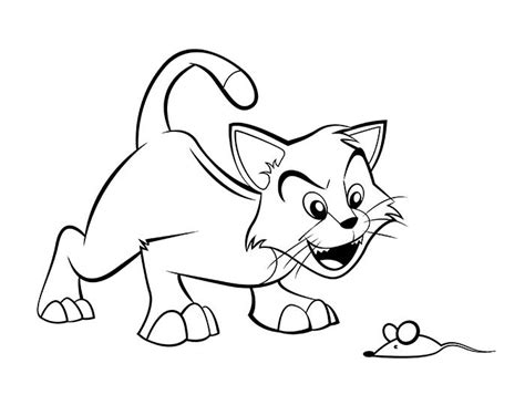 Blank Cartoon Pictures For Colouring 70 Animal Colouring