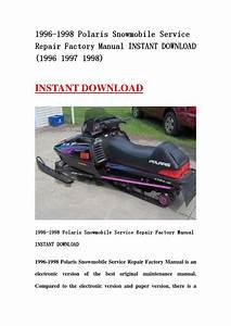1997 Polaris Indy 500 Parts Manual