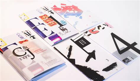 chinese japanese typography zine inform design