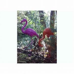 Flamant Rose Deco Jardin : flamant rose en r sine pour d corer votre jardin chez ksl living ~ Teatrodelosmanantiales.com Idées de Décoration