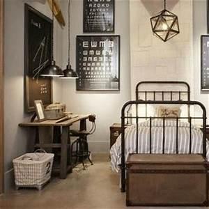 Deco Maison Industriel : des chambres au style industriel floriane lemari ~ Teatrodelosmanantiales.com Idées de Décoration