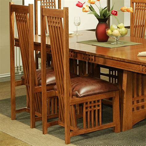 mission style dining chair plans woodworking projects