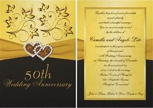 50th wedding anniversary invitation wording With words for 50th wedding anniversary card