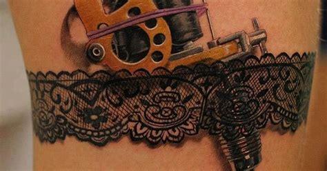 Dentelle, Porte Jartelle  Tattoo  Pinterest Tattoo
