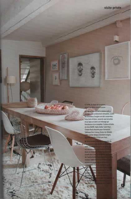 chaise de cuisine maison lyon design et mobilier contemporain la presse deco ides le magazine belge