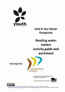Vcal  Unit 8 Reading Water Meters Activity Guide And