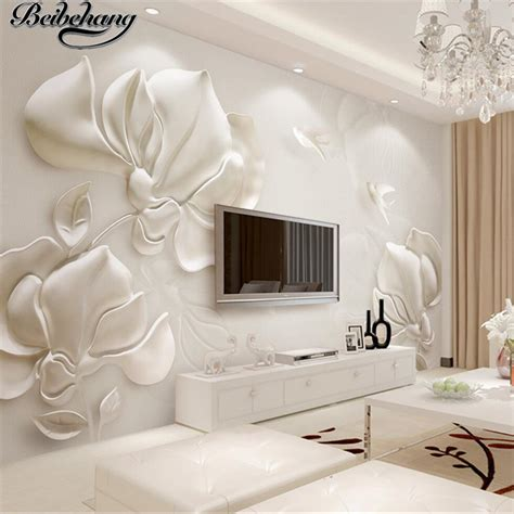 beibehang custom  wallpapers  dimensional plaster