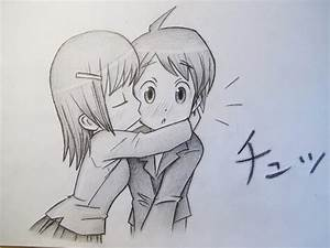 Gallery: Boy Kissing A Girl Drawing, - DRAWING ART GALLERY